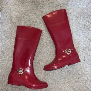 Michael Kor Rain Boots